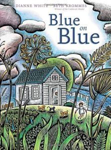 Picture Book Cover: Blue on Blue