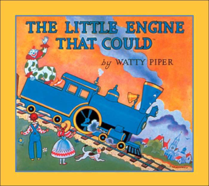 Picture Book Cover: The little Engine that Could