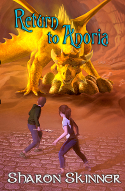 Return to Anoria by Sharon Skinner Book Cover